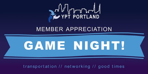 YPT Members Celebration Game Night