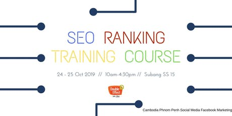 SEO Ranking Training Course (OCT) tickets