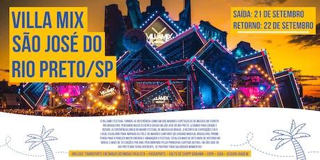21/09 - Excursão Villa Mix Festival - São José do Rio Preto - Viva Viagens ingressos