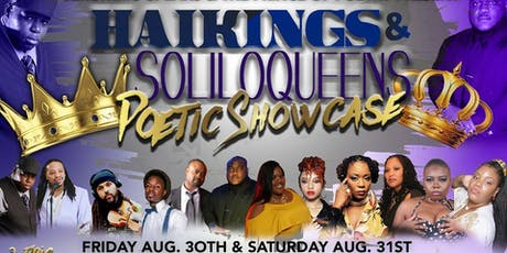 JERONIMO SPEAKS AND PRINCE OF POETRY  PRESENTS- HAIKINGS & SOLILOQUEENS tickets
