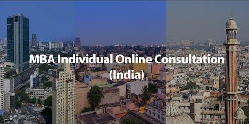 CUHK MBA Individual Online Consultation (India)