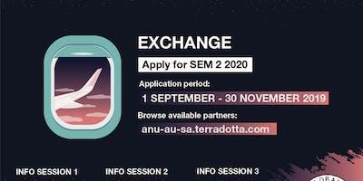 Exchange Info Session 1 - S2 2020