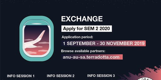 Exchange Info Session 1 - S2 2020