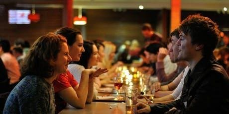 POSTPONED- Singles Seated Speed Double Dating