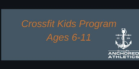 CrossFit Kids Program Ages 6-11 tickets