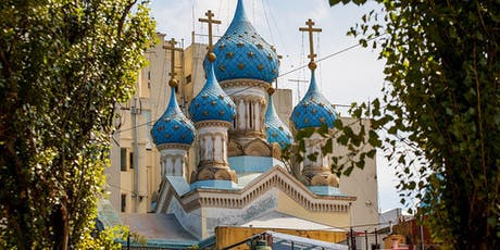 Parque Lezama + Iglesia Ortodoxa Rusa entradas