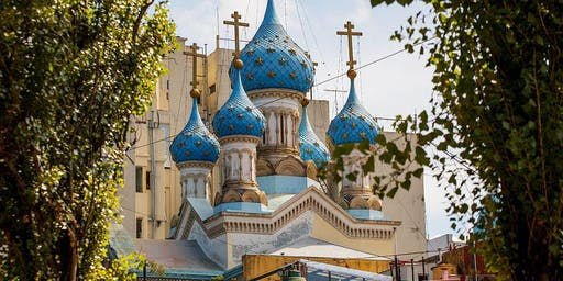 Parque Lezama + Iglesia Ortodoxa Rusa