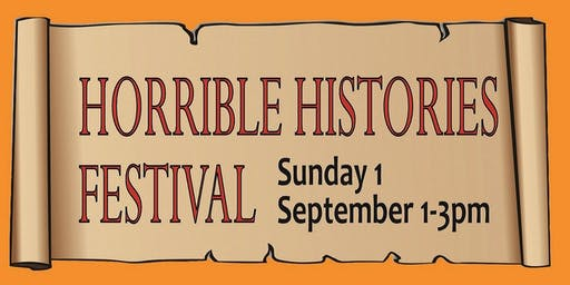 Horrible Histories Festival at Waverley Library FREE