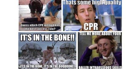 Sim Wars!!!  Focus on High Performance CPR tickets