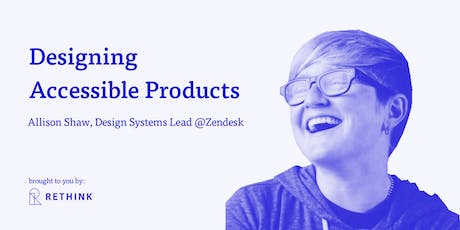 Accessibility in Product Design - Full Day Workshop tickets