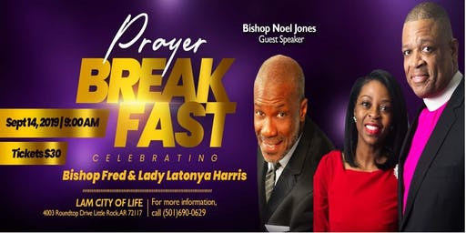Celebration Prayer Breakfast Bishop Fred Harris & Lady Latonya Harris