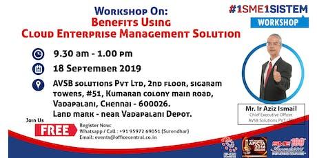 Workshop on Benefit using Cloud Enterprise Management Solution (18 September 2019) tickets