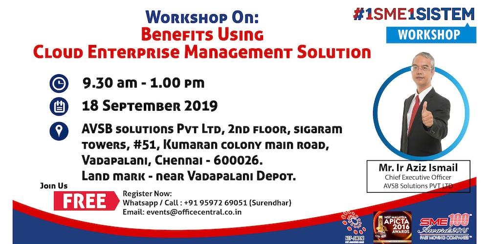 Workshop on Benefit using Cloud Enterprise Management Solution (18