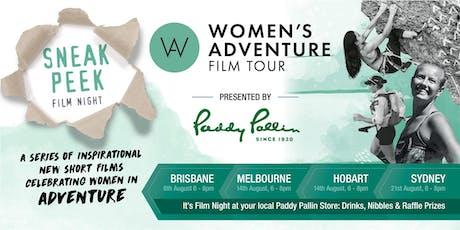Paddy Pallin Sydney presents: Women's Adventure Film Tour Sneak Peek tickets