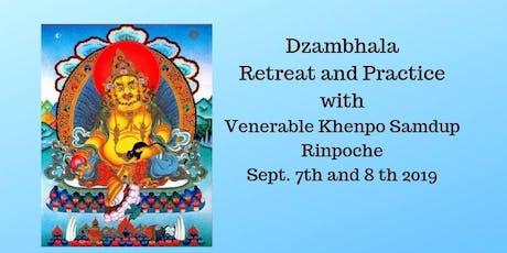 Dzhambhal Empowerment teaching and practice retreat tickets