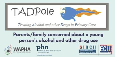 Parents and family concerned about a family member's drug and alcohol use. tickets