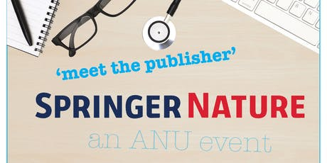 Meet the publisher - Springer Nature tickets