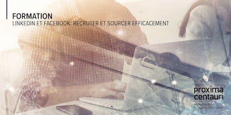 LinkedIn et Facebook: recruter et sourcer efficacement billets