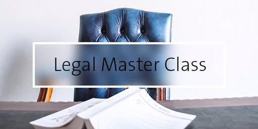 Legal Masterclass with Carolyn Sparke QC & Andrew Silver