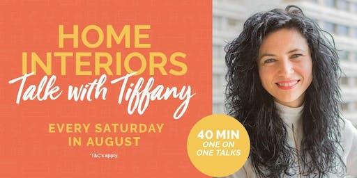 Home Interior Talks with Tiffany Jade Benn, at Alexandria Homemaker Centre