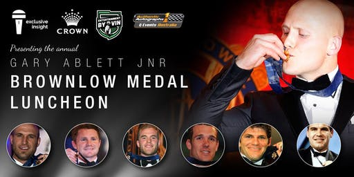 Brownlow Medal Luncheon at Crown Casino featuring 7 Brownlow Medalists!
