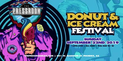 DONUT & ICE CREAM FESTIVAL @ The Pressroom