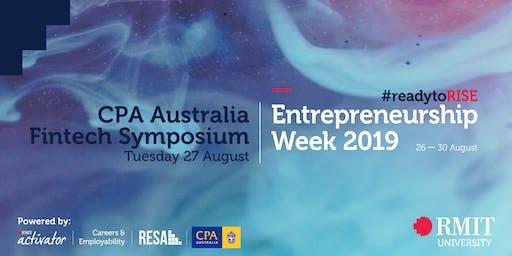 RMIT Entrepreneurship Week - CPA Fintech Symposium