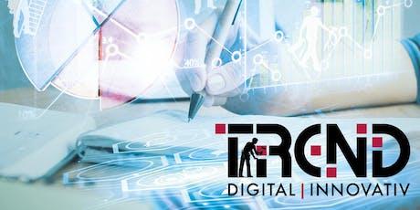 Mit innovativen Geschäftsmodellen fit für die digitale Zukunft Tickets