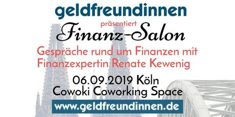 Geldfreundinnen präsentiert Finanz-Salon Tickets