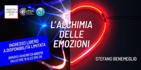 Conferenza di Stefano Benemeglio a Brindisi - Ingresso gratuito biglietti