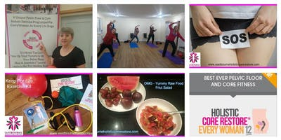 September 11th EveryWoman 6 week Course Wednesday 9.30 -10.45am