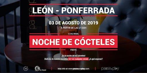 Noche de cócteles en Pause&Play El Rosal