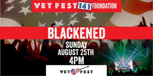 AUGUST 25TH- Blackened at Vet Fest Oswego