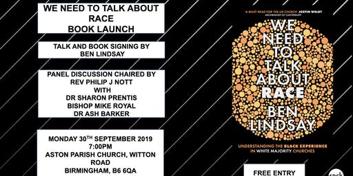 WE NEED TO TALK ABOUT RACE  BOOK LAUNCH (BIRMINGHAM)