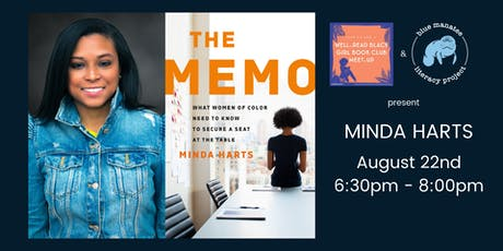 Blue Manatee Literacy Project Welcomes Author Minda Harts tickets