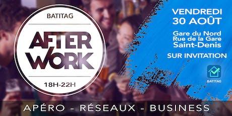 Les AFTERWORKS BATITAG pour les artisans et les professionnels du BTP ! billets