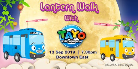 Lantern Walk with Tayo The Little Bus tickets