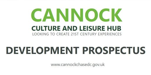 Cannock Town Centre Development Prospectus Launch