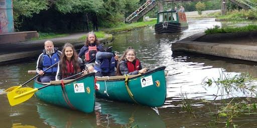Canoe Trail Relay Bingley 5 Rise to Riddlesden