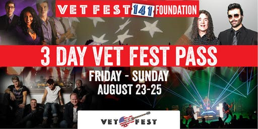 Vet Fest 3 Day Pass - Vet Fest Oswego