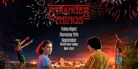 Stranger Things Trivia Extravaganza tickets