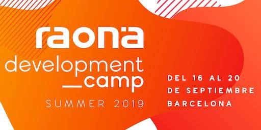 Development Camp Summer 2019