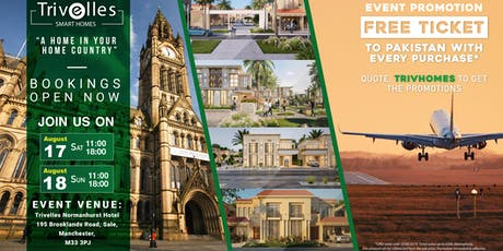 Exclusive Homes for Sale in Pakistan by UK Developer  BOOK NOW your ticket tickets