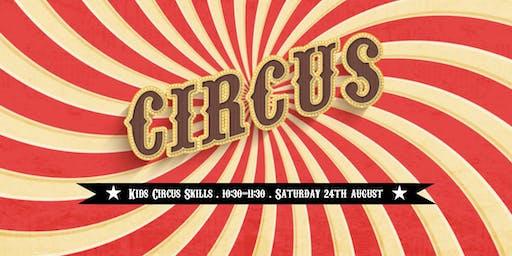 Circus Skills Workshop for Kids
