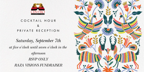 Cocktail Hour & Private Reception: Raza Visions tickets