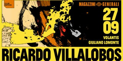 Ricardo Villalobos | 25th Opening Party
