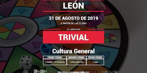 Trivial de Cultura General en Pause&Play León Plaza