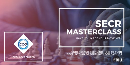 SECR Masterclass and Seminar: London Afternoon