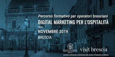 Digital Marketing per l'ospitalità - formazione per operatori bresciani