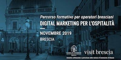 Digital Marketing per l'ospitalità - formazione per operatori bresciani